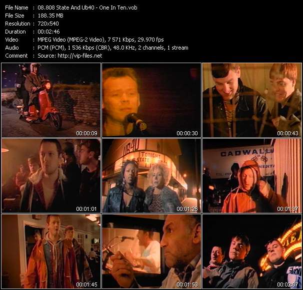 808 State And Ub40 video screenshot
