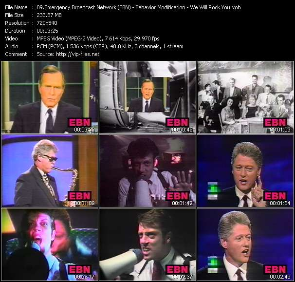 Emergency Broadcast Network (EBN) video screenshot