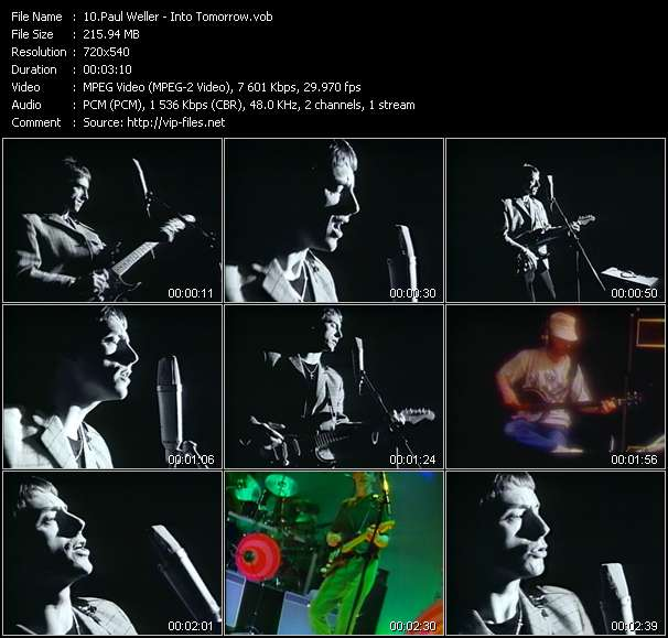 Paul Weller video screenshot
