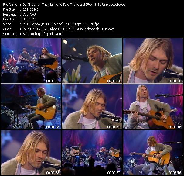 Nirvana video screenshot