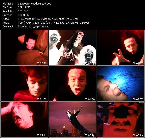 Ween video screenshot