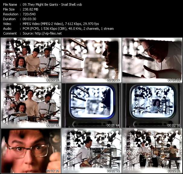 They Might Be Giants video screenshot