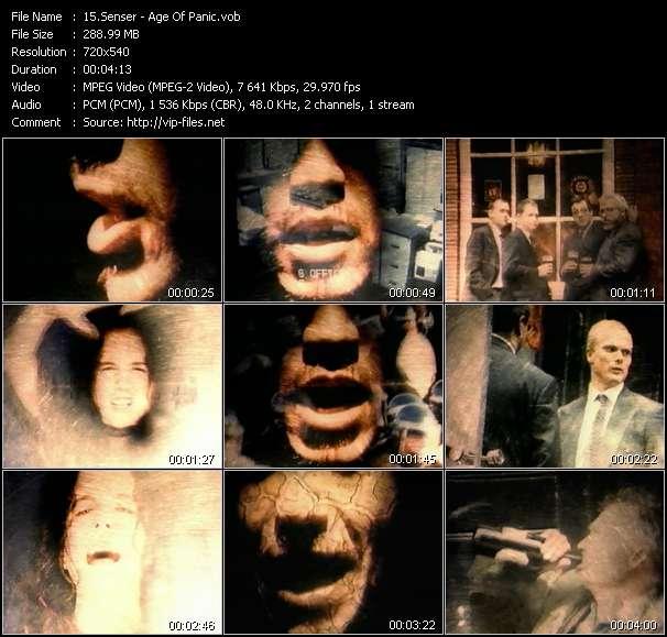 Senser video screenshot