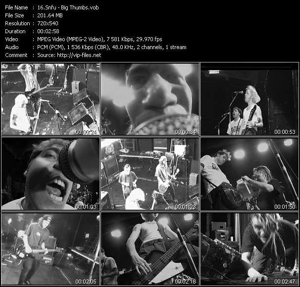 Snfu video screenshot