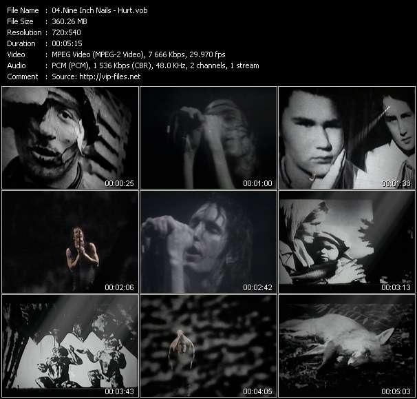Nine Inch Nails video screenshot