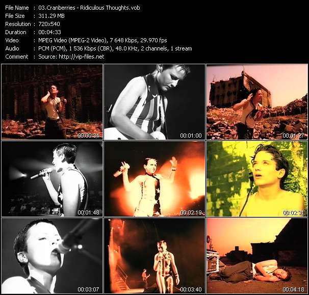 Cranberries video screenshot