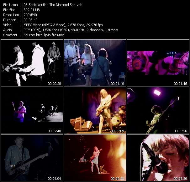 Sonic Youth video screenshot