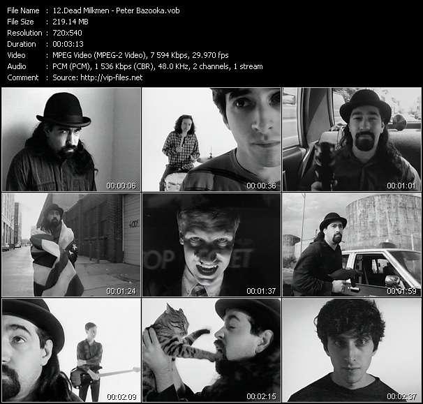 Dead Milkmen video screenshot