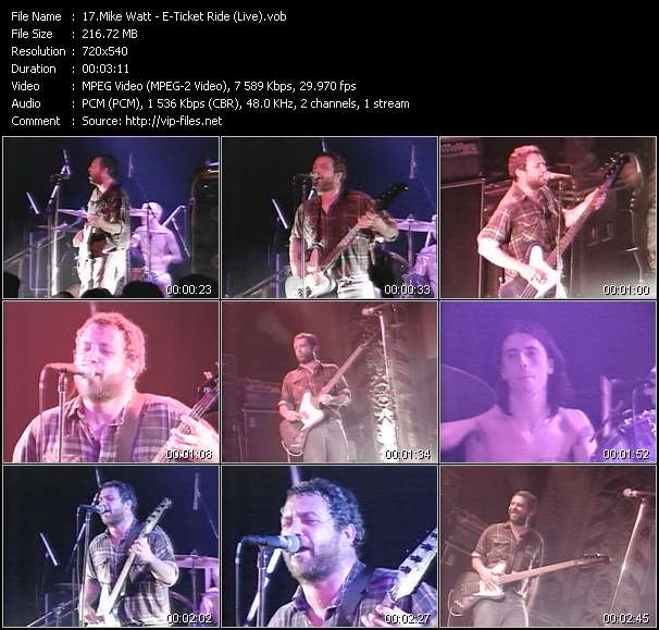 Mike Watt video screenshot