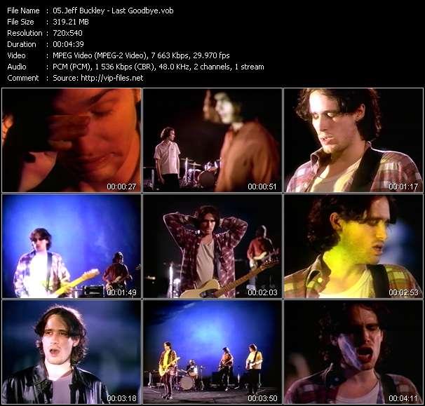 Jeff Buckley video screenshot