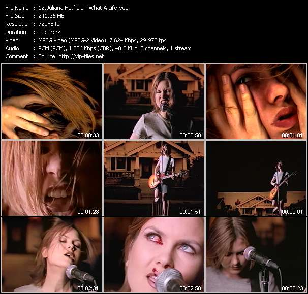 Juliana Hatfield video screenshot