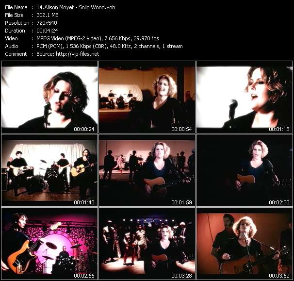 Alison Moyet video screenshot