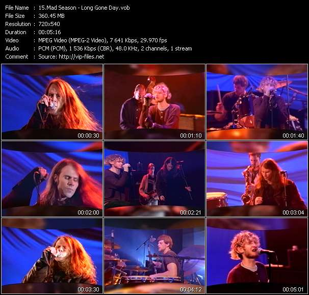 Mad Season video screenshot