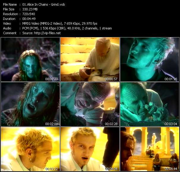 Alice In Chains video screenshot