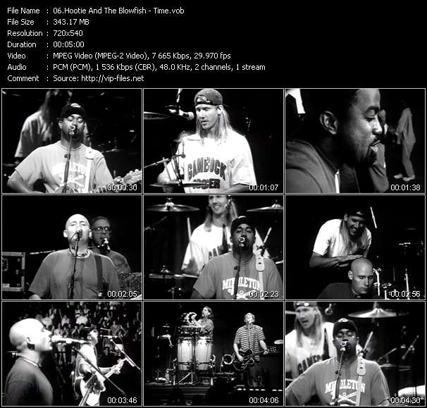 Hootie And The Blowfish video screenshot