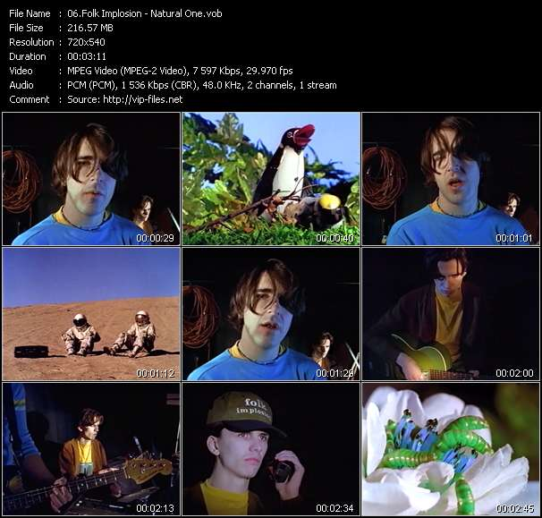 Folk Implosion video screenshot