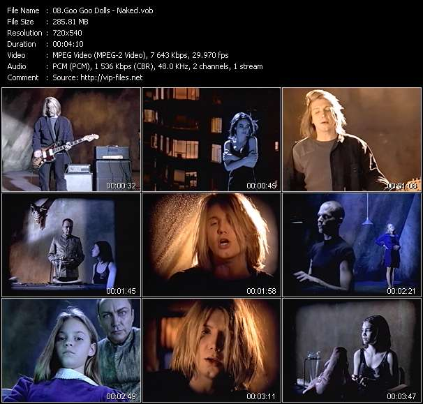 Goo Goo Dolls video screenshot