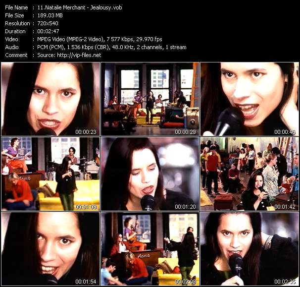 Natalie Merchant video screenshot