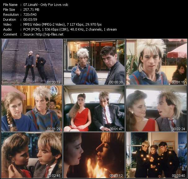 Limahl video screenshot