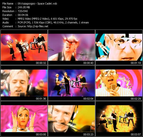 Kajagoogoo video screenshot