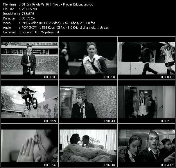 Eric Prydz Vs. Pink Floyd video screenshot