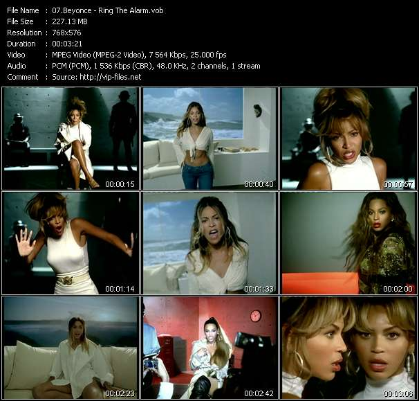 Beyonce video screenshot