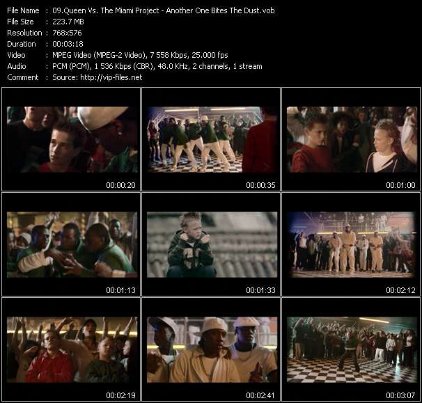 Queen Vs. The Miami Project video screenshot