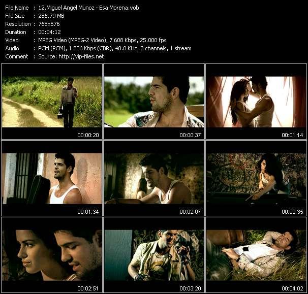 Miguel Angel Munoz video screenshot