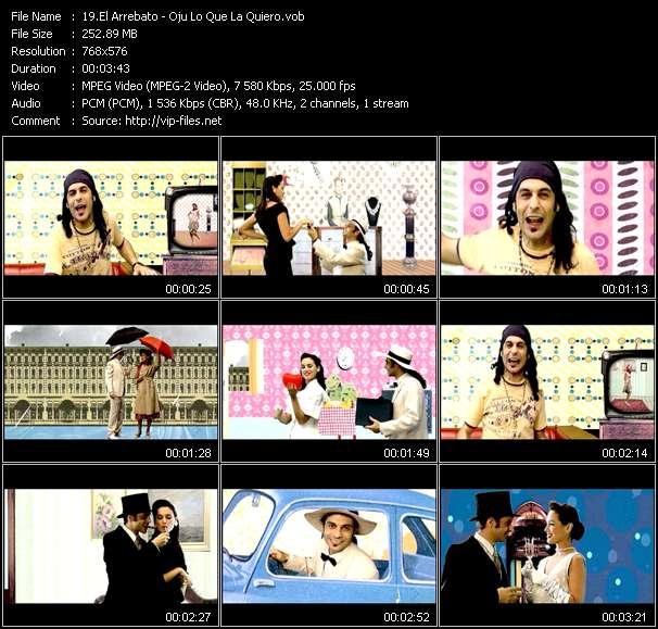 El Arrebato video screenshot