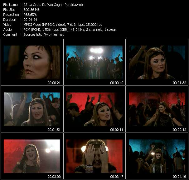 La Oreja De Van Gogh video screenshot