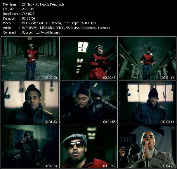 Nas video screenshot