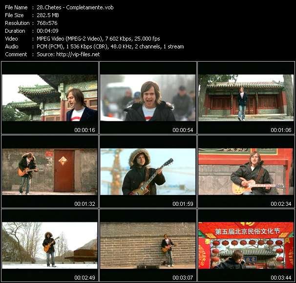 Chetes video screenshot