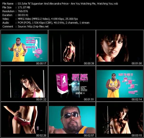 Syke 'N' Sugarstarr And Alexandra Prince video screenshot