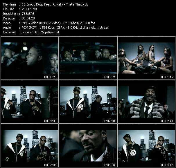 Snoop Dogg Feat. R. Kelly video screenshot