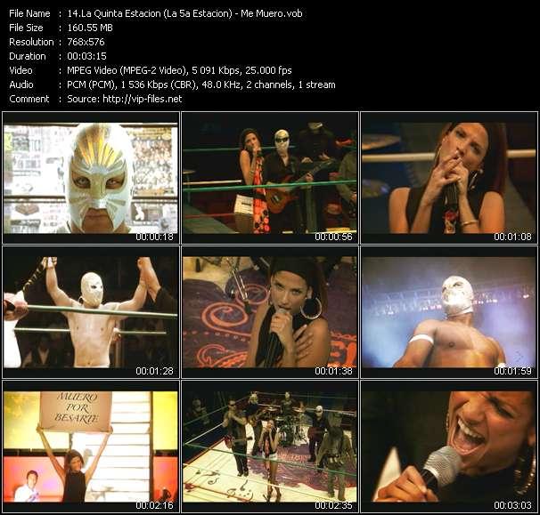 La Quinta Estacion (La 5a Estacion) video screenshot