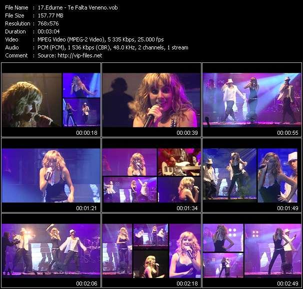 Edurne video screenshot