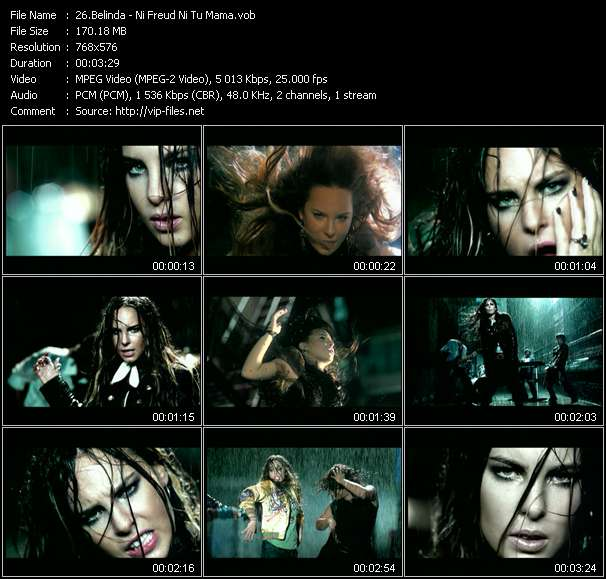 Belinda video screenshot