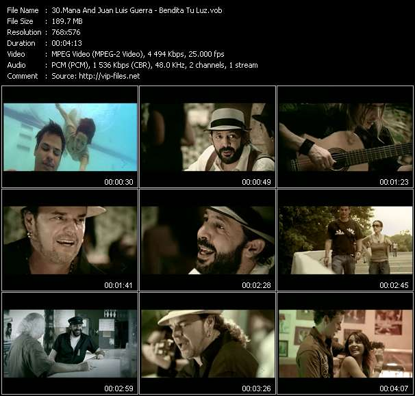 Mana And Juan Luis Guerra video screenshot