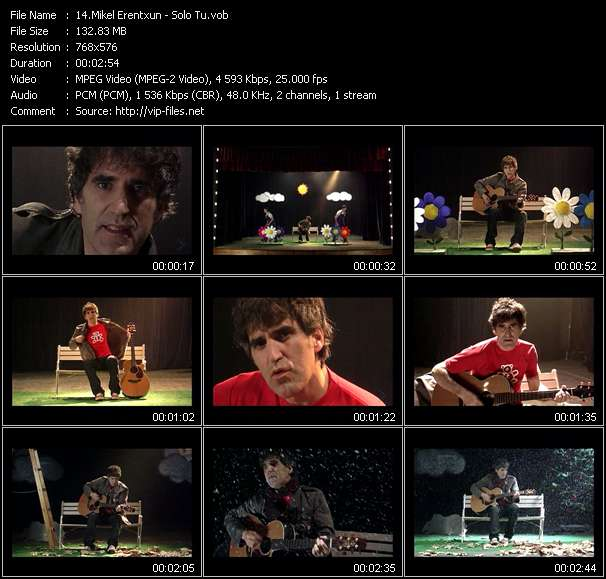 Mikel Erentxun video screenshot