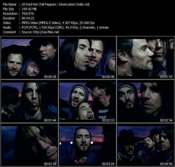 video Desecration Smile screen