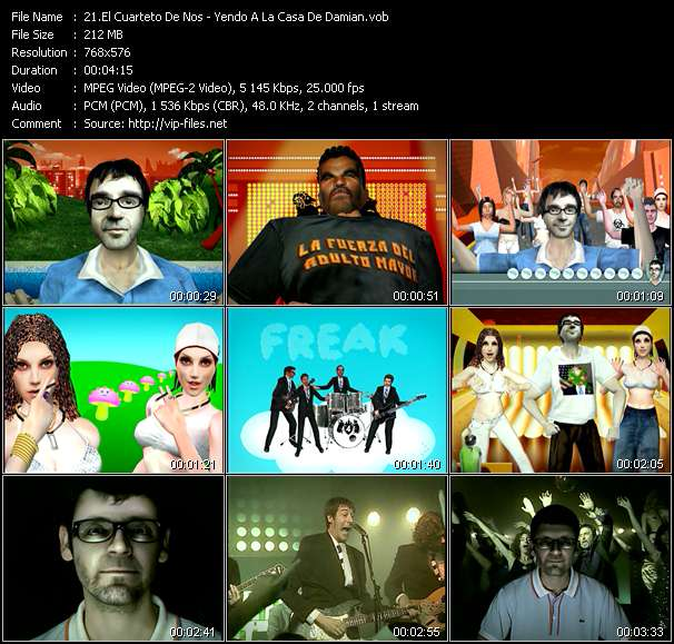 El Cuarteto De Nos video screenshot