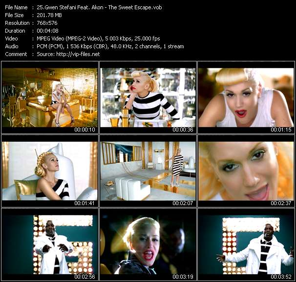 Gwen Stefani Feat. Akon video screenshot