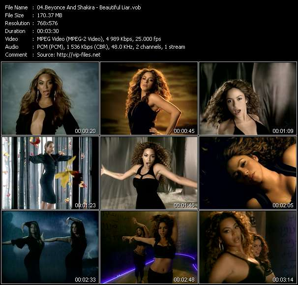Beyonce And Shakira video screenshot