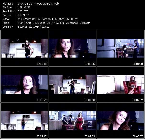 Ana Belen video screenshot