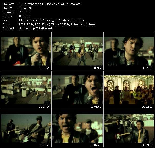 Los Vengadores video screenshot