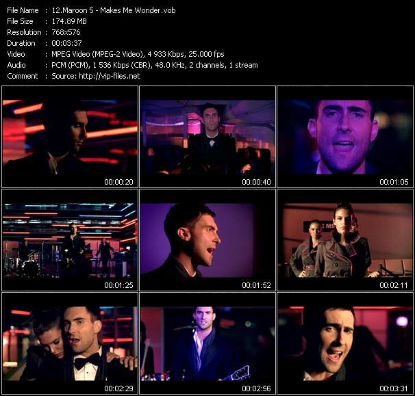 Maroon 5 video screenshot