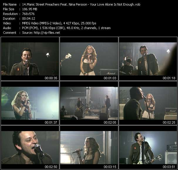 Manic Street Preachers Feat. Nina Persson video screenshot
