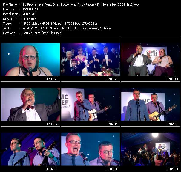 Proclaimers Feat. Brian Potter And Andy Pipkin video screenshot