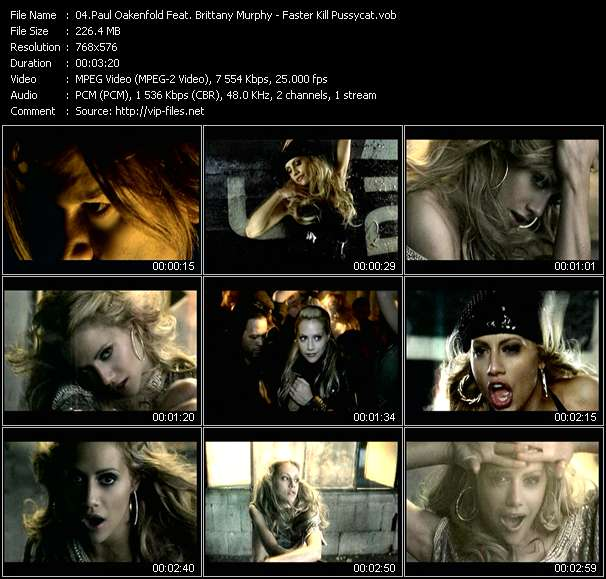 Paul Oakenfold Feat. Brittany Murphy video screenshot