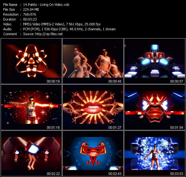 Pakito video screenshot